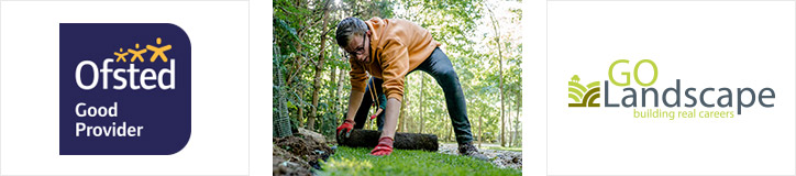 Ofsted Good and Go Landscape YMCA Horticulture apprenticeships