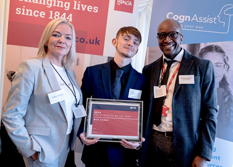 Max Cunny wins YMCA Pre-Apprentice of the Year