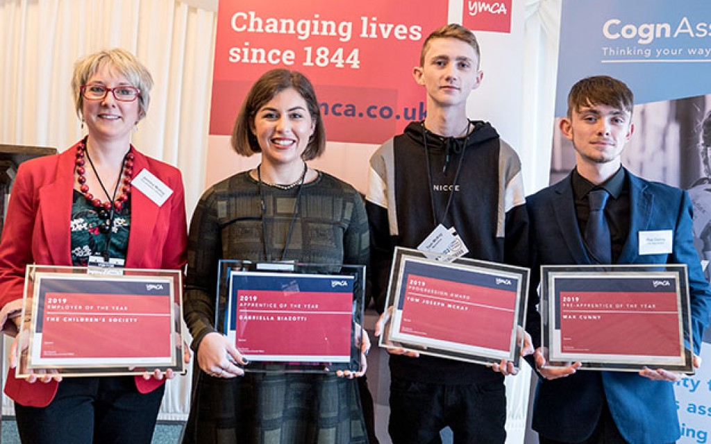 YMCA Annual Apprenticeship Awards Winners